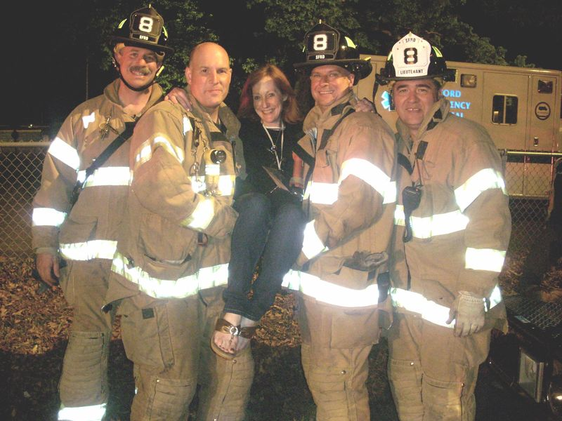 Red and the Stamford Firemen